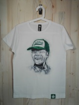 Nelson Mandela. 10 €. Estampado con impresión directa (Consultar disponibilidad de tallas)